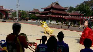 Pertunjukan Seni di Sam Poo Kong