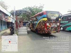 Bus Trans Jateng